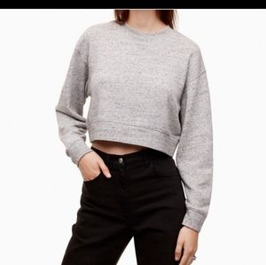BNWT Aritzia Wilfred Free Crop Sweater